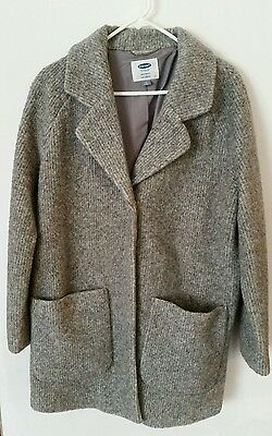 Old Navy Maternity Coat. Medium. Grey. Excellent condition