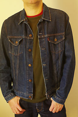 Vintage Mens Levis Red Tab Denim Jacket - 80s/90s
