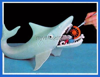 "THE GAME OF JAWS Fridge MAGNET  2"" x 3"" art NOSTALGIC VINTAGE IDEAL"