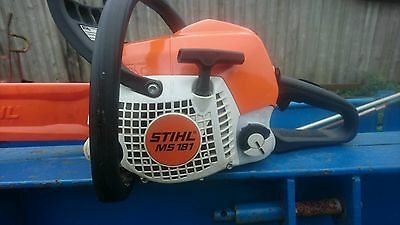 STIHL CHAINSAW MS 181c 2015 WITH 16in BAR AND CHAIN
