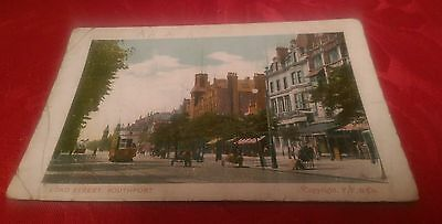 Vintage FF&Co Colour Postcard - Lord Street, Southport