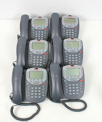 Lot of 6 Avaya 4610SW IP Office Business Telephones VoIP