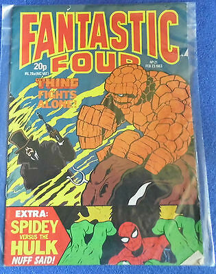 Fantastic Four Comic 23Rd February 1983 N0 #21