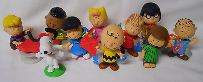 COMPLETE SET! 2015 Just Play Peanuts Gang Collector's PVC Figure Set