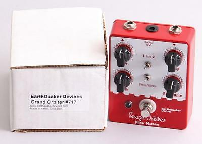 Earthquaker Devices Grand Orbiter Phase Machine  Guitar Effects Pedal PD-0691