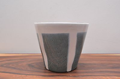 Stylish Mid Century Vintage Ceramic Large Planter by Kilrush Pottery