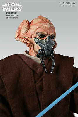 Star Wars Plo Koon Jedi Master Sideshow Collectibles **MISB**