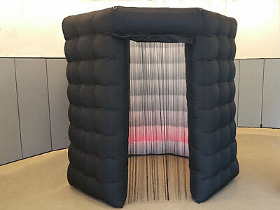 Black Octagon Booth | Photo Booth Business | Free Worldwide Shipping