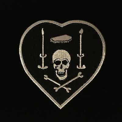 BLACKHEART INSIGNIA - WWI - Embroidered Reproduction Finest Quality