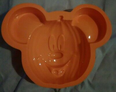 DISNEY MICKEY MOUSE pumpkin silicone cake chocolate jelly mould