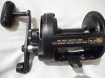 Shimano Tld15 Lever Drag Boat Multiplier Fishing Reel - Immaculate Condition