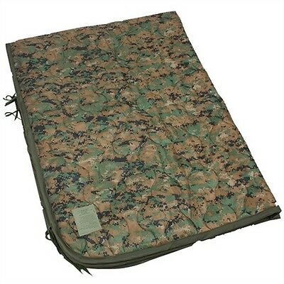 Genuine Military MARPAT USMC Blanket Wet Weather Poncho liner Blanket Grade A