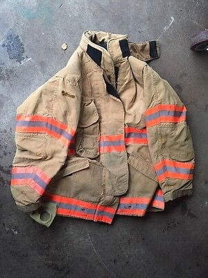Firefighter Bunker Gear (Jacket) - (46-32R) - With Insulation – Used