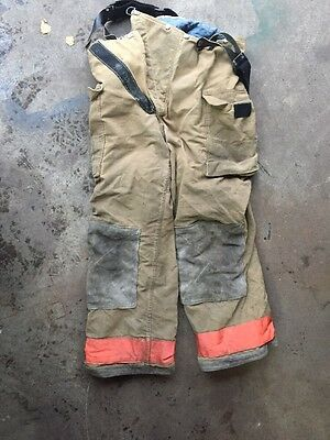 Firefighter's Bunker Gear (pants)  36 - 33) Insulated With Suspenders - Used
