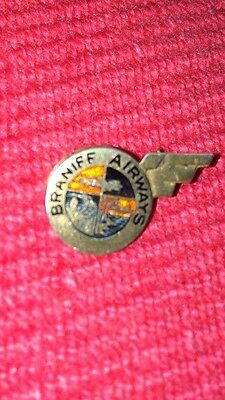 Braniff 1930s Sterling Service Pin
