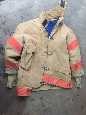 Firefighter Bunker Gear (Jacket) - (49-35) - With Insulation – Used