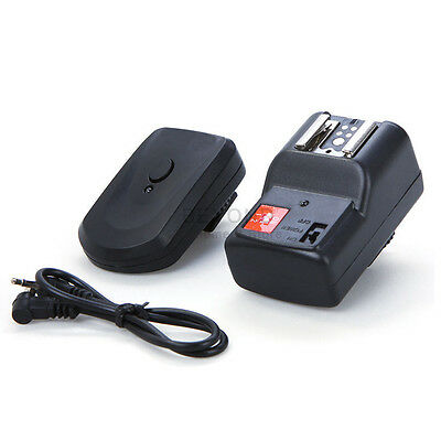 4 Channel Wireless Remote Flash Trigger Receiver For Canon Nikon Camera DSLR