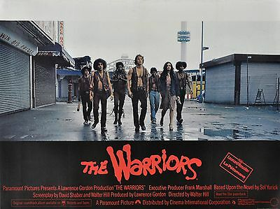 "The Warriors 16"" x 12"" Reproduction Movie Poster Photograph"