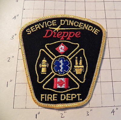 Dieppe (NB,Canada) Fire Department Patch