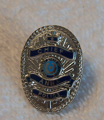 Anna (TX) Police Department CHIEF Collector Pin  (P132)
