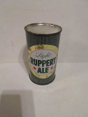 Vintage Scarce Light Rupert Ale New York NY Flat Top Beer Can