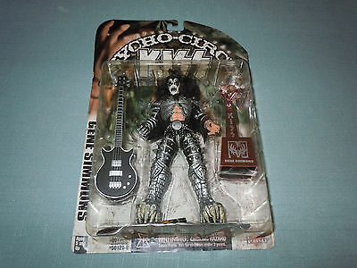 KISS 1998 Psycho Circus Tour Edition McFarlane Gene Simmons Action Figure Bass