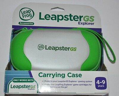 LeapFrog Leapster GS Explorer Carrying Case Leap Frog Leapster GS 4-9 Years NEW