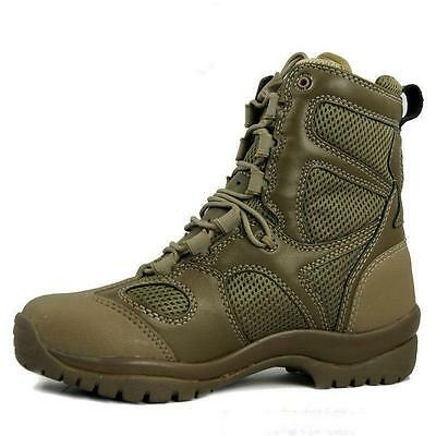 Men Lace Up Breathable Desert Tactical Boots For Hiking Military Combat Army @Y6