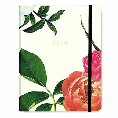 NEW KATE SPADE NYC 2016-2017 Large Agenda Planner Book - Patio Floral 163021
