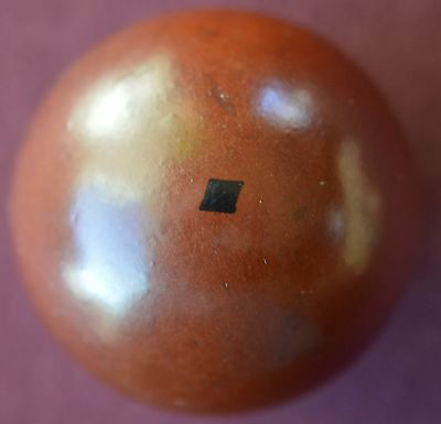Antique Black Diamond Bakelite Break Ball