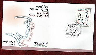 BANGLADESH STAMPS- International Women Day, 2007  FDC