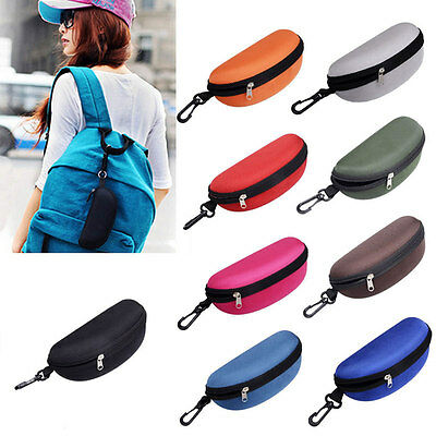Sunglasses Reading Glasses Carry Case Bag Hard Zipper Box Travel Pack Pouch HOT