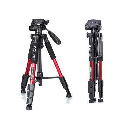ZOMEI Professional Aluminium Portable Camera Tripod  For Canon DSLR Camcorder