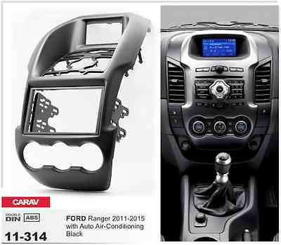 CARAV 11-314 Car Radio Fascia Panel for FORD Ranger (Auto Air-Conditioning)