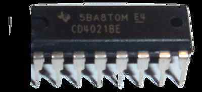 1 Piece CD4021BE CD4021 TI CMOS 8-Stage Static Shift Register DIP16 US Seller