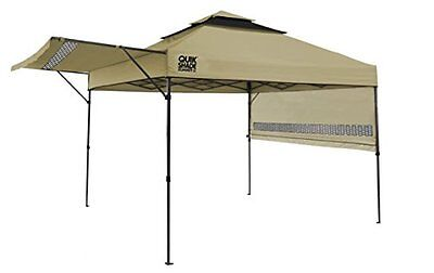 Quik Shade Summit X SX170 10 x 10 Instant Canopy with Adjustable Dual Half Aw...