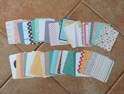 50 X Becky Higgins Project Life Cards - Mixed - No Doubles