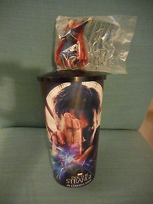 Marvel Comics: Doctor Strange Movie Theater Exclusive Cup Lid with Topper~NEW!!