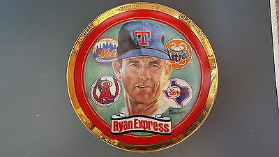 Nolan Ryan The Ryan Express 1993 Sports Impressions Collectors Plate