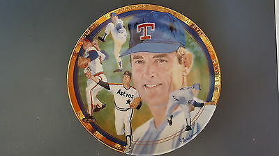 Nolan Ryan The Strikeout Express 1993 Sports Impressions Collectors Plate