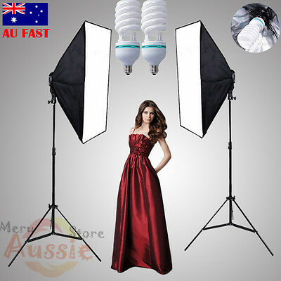 1350W Photo Studio Continuous Lighting Softbox Video Soft Box Light Stand Kit