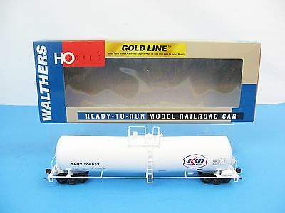 Walthers GOLD LINE 932-7277 HO Funnel Flow Tank Car UTLX 23000 Gal SHPX #260857