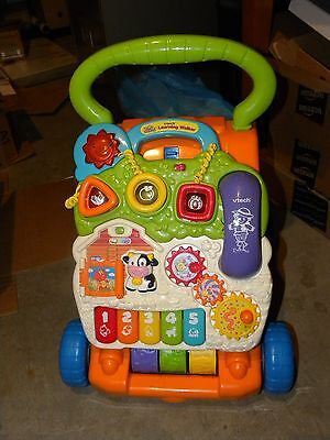 Vtech Toys Sit to Stand Learning WALKER..Interactive Activity Panel..Kids..Phone