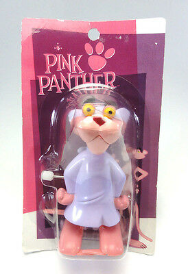 PINK PANTHER Walking Wind Up Toy Figure HEART JAPAN