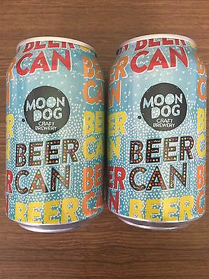 """2 X 330ml Moon Dog Brewing Co """"Beer Can"""" Australian Craft BEER CANS"""