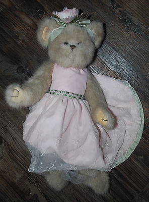 "2006 The Bearington Collection Camilla Teddy Bear 16"" Plush with no Tags 1629"