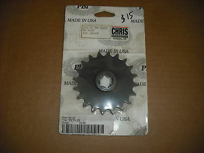 NEW TM ICC KZ Shifter Kart 20T Drive Sprocket Chris Products #162-20