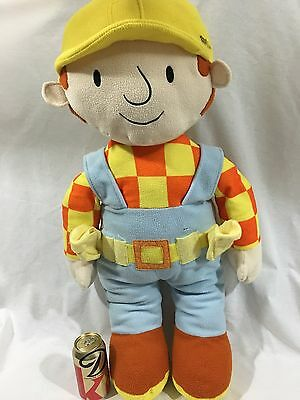 RARE! HUGE Giant Large Bob the Builder Plush Toy Doll 30 in 77 cm