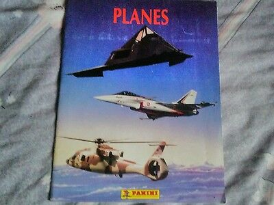 Planes panini very rare fully completed sticker album