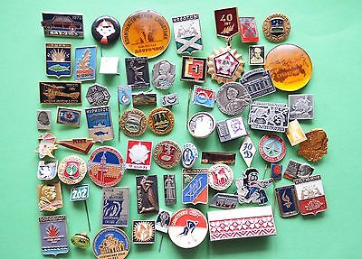 Lot of different USSR badges
